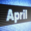 Stock Photo: April