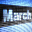 March — Stock Photo