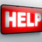 Help — Stock Photo