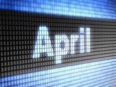 4 月 — ストック写真