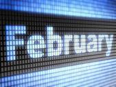 únor — Stock fotografie