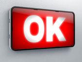Okay — Stock Photo