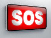 SOS sign — Stockfoto
