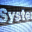 System — Stock Photo #12183255