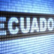 Ecuador — Stock Photo #12183841