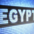 """Egypt"" on screen — Stock Photo"