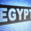 """Egypt"" on screen — Stock Photo #12184106"