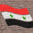Syrian flag — Stock Photo