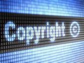 Autorská práva — Stock fotografie