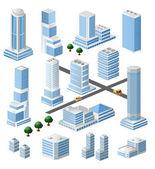 Arranha-céus cidade — Vetor de Stock
