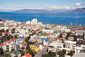 Centrum reykjaviku, islandia — Zdjęcie stockowe