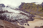 Steinholtsjokull glacier, Iceland — Stock Photo