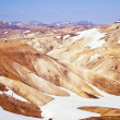 Rhyolite mountains, Iceland — 图库照片
