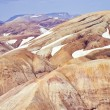 Stock Photo: Rhyolite mountains, Iceland