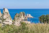 Tonnara di Scopello, Sicily — Stock Photo