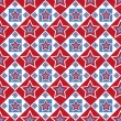 American colored stars pattern — Vector de stock #10925002