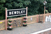 Bewdley Tain Station — Stock Photo