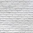 pared de ladrillo blanco para un fondo — Foto de Stock   #10982944
