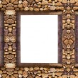 Stock Photo: Frame stones for spbackground