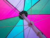 Barevný slunečník — Stock fotografie
