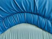 Primer plano de textura sofá azul — Foto de Stock