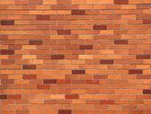Cihlová zeď, na pozadí — Stock fotografie
