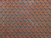 Texture of rusty steel plate for background — Photo