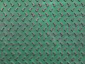緑とさびたグランジ テクスチャ背景用鋼板 — ストック写真