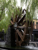Water mill wheel — Stock Photo