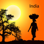 India-3 — Stock Vector