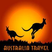 Australia-1 — Stock Vector