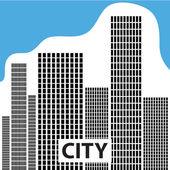 City-logo — Stock Vector