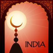India-6 — Stock Vector