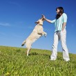 Dog trainer — Stock Photo #11327581