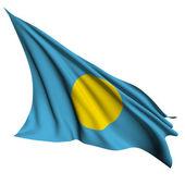 Palau flag render illustration — Stock Photo