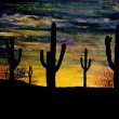 Arizona Sunset — Stock Photo