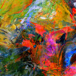 Stock Photo: Abstract Oil painting