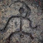 Hawaiian Petroglyphs — Stock Photo
