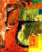 抽象油 — 图库照片