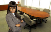 African American Business Woman — Stock Photo