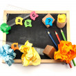 Stock Photo: Pre school tools.