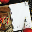 Royalty-Free Stock Photo: Christmas note book