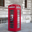 Red Telephone Box; London — Stock Photo #11668156