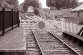 Station Railway Siding — Stock Photo