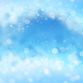 Light silver abstract freshness background with white ice tinsel — Stock Photo