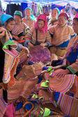 Vietnamese Flower Hmong Ethnic Minority — Stock Photo