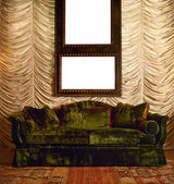 Luxurious sofa — Stock Photo
