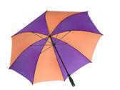 Beyaz bitti izole şemsiye. — Stok fotoğraf