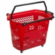 Shopping cart , clipping path — Stock Photo