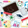 Back to school set - Stock Vector